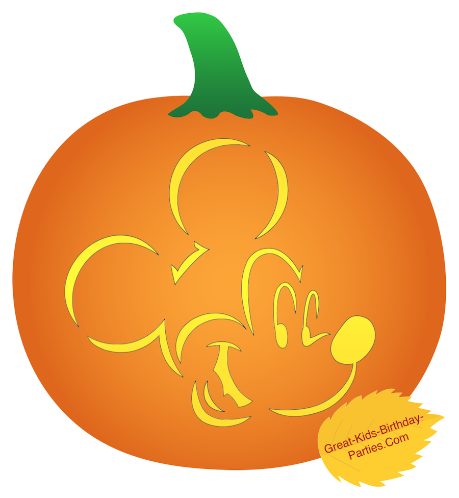 Pumpkin Stencils-Fun Halloween Pumpkin Stencils For Kids