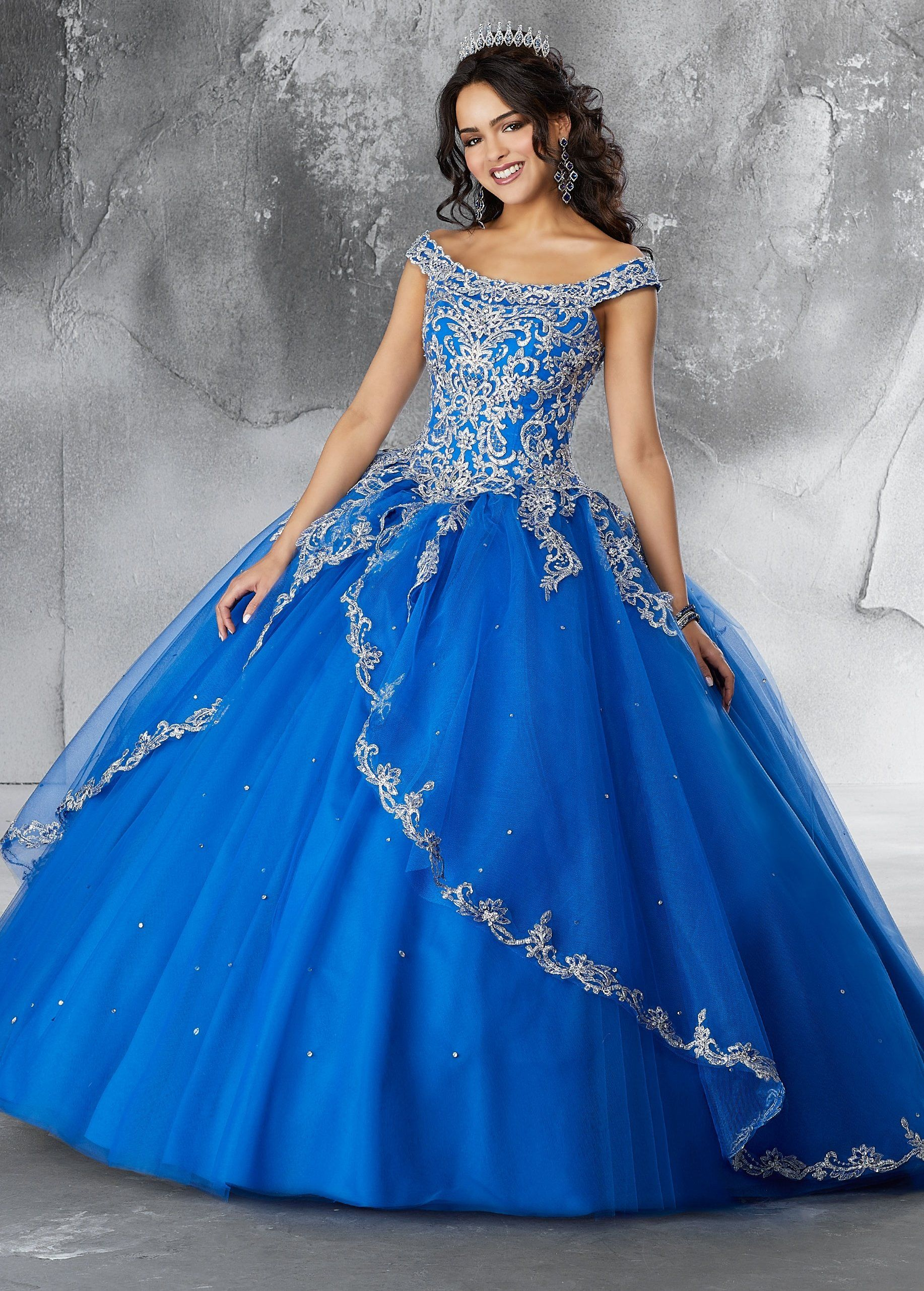 6fc94c75503 Off the Shoulder Quinceanera Dress by Mori Lee Vizcaya 89191 ...