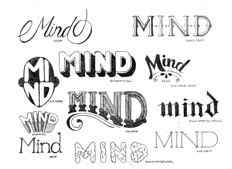 HandLetter Sketch Your Favorite Quote Title Or Phrase