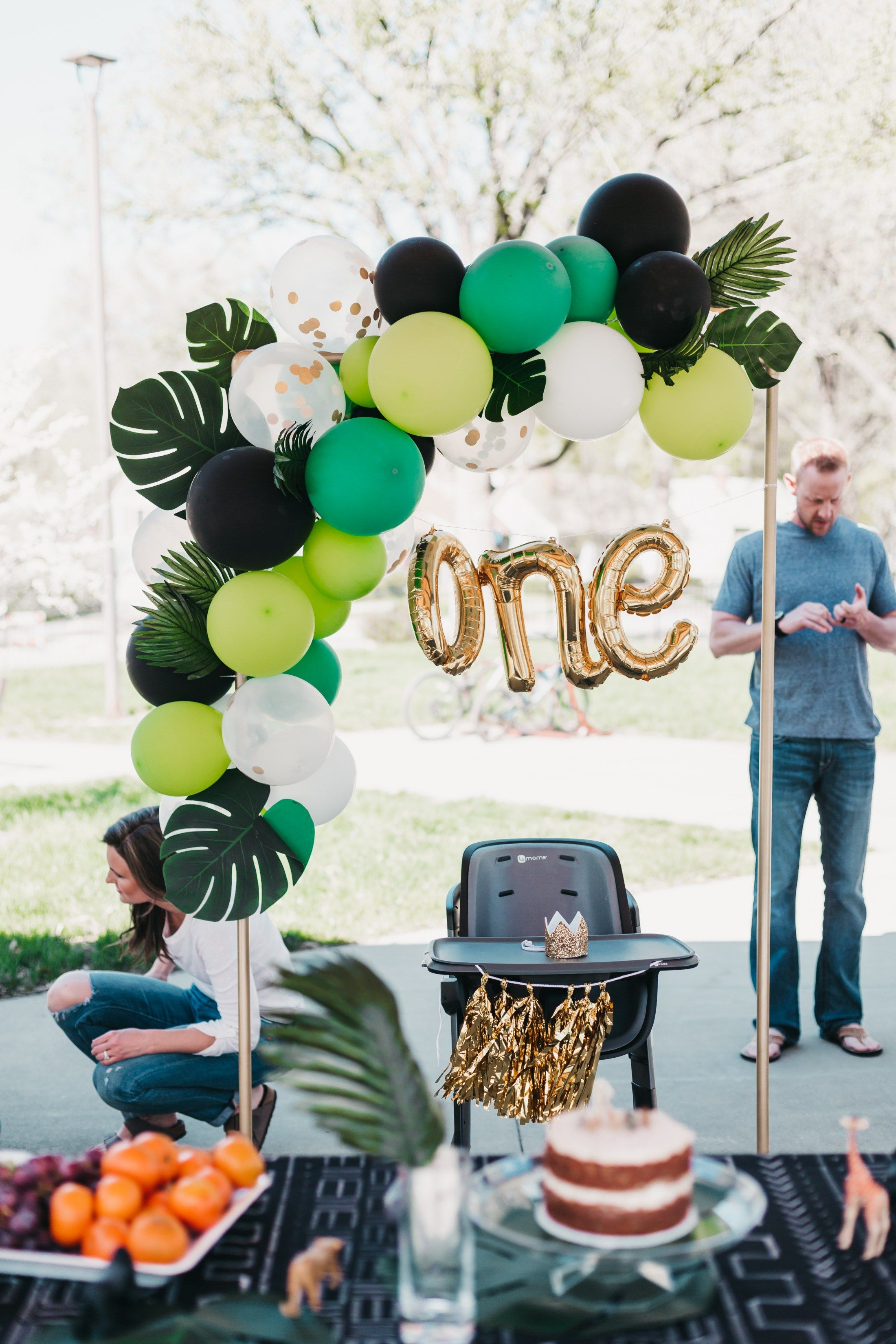 Safari Themed First Birthday Party! • Mindfully Gray