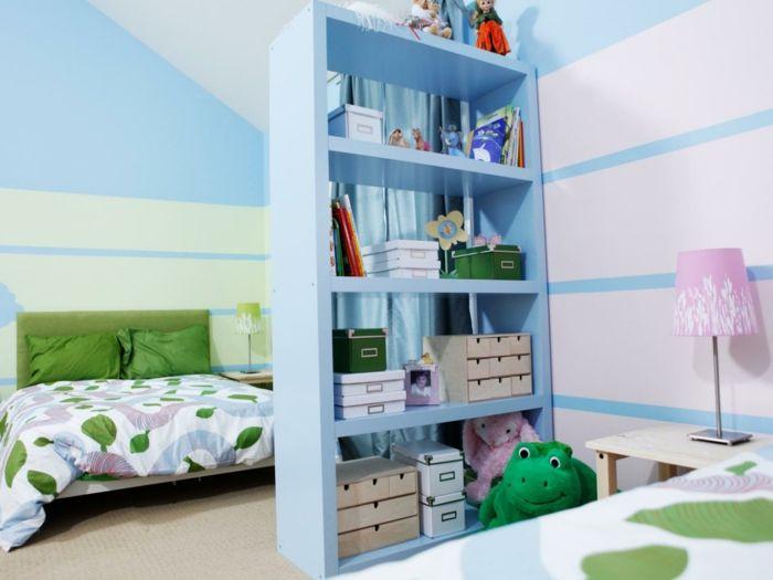 kinderzimmer teilen trennwand wohnideen. Black Bedroom Furniture Sets. Home Design Ideas