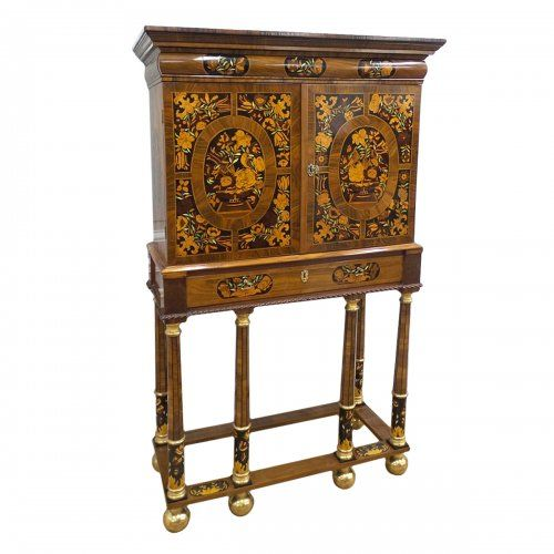 cabinet anglais fin xviie si cle atc louis xiv. Black Bedroom Furniture Sets. Home Design Ideas