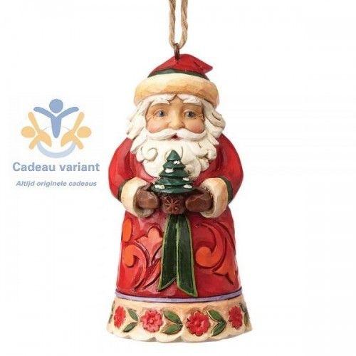Kerstman Beeld Klein Mini Santa Kerstman Versierde Kerstbomen Mini