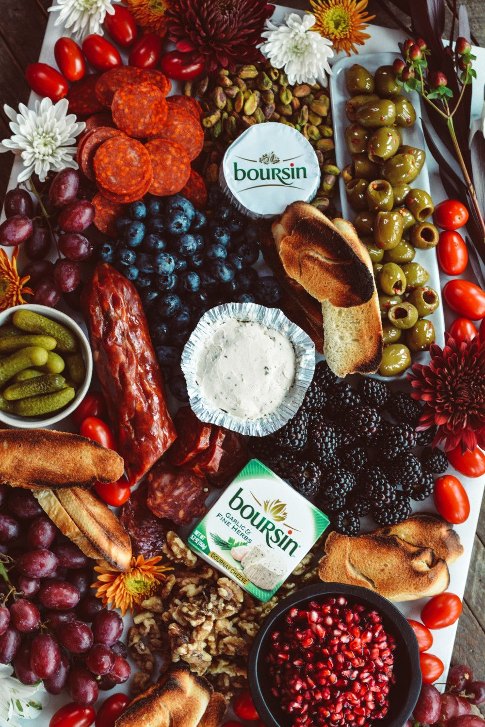 Boursin Holiday Cheese Platter Recipe Best appetizer