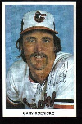 Gary Roenicke Baltimore Orioles Baltimore Orioles Baseball