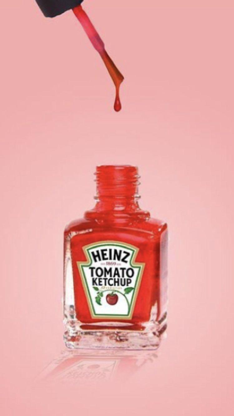 Ketchup Kolor Red Nails In 2020 Tomato Ketchup Heinz Ketchup Ketchup