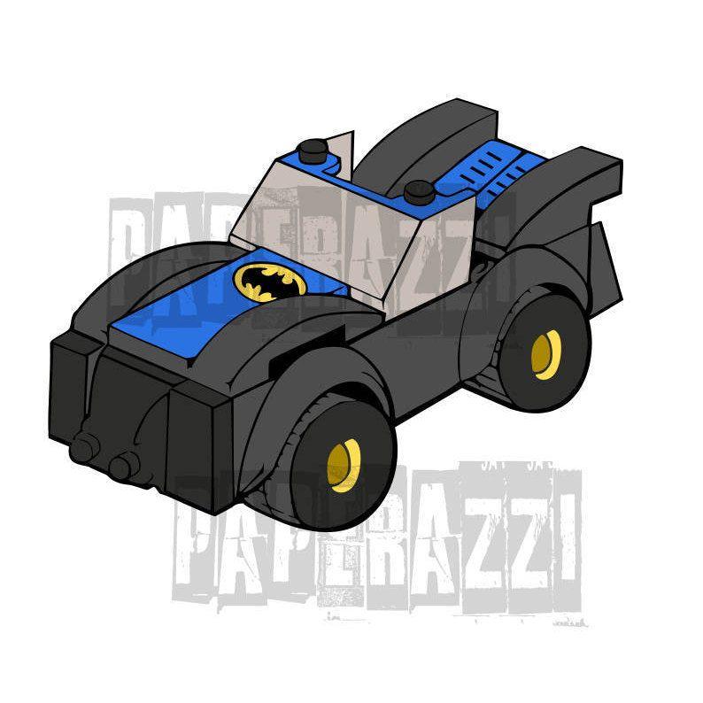 Batman Lego SVG DXF for Cricut Design Space Silhouette