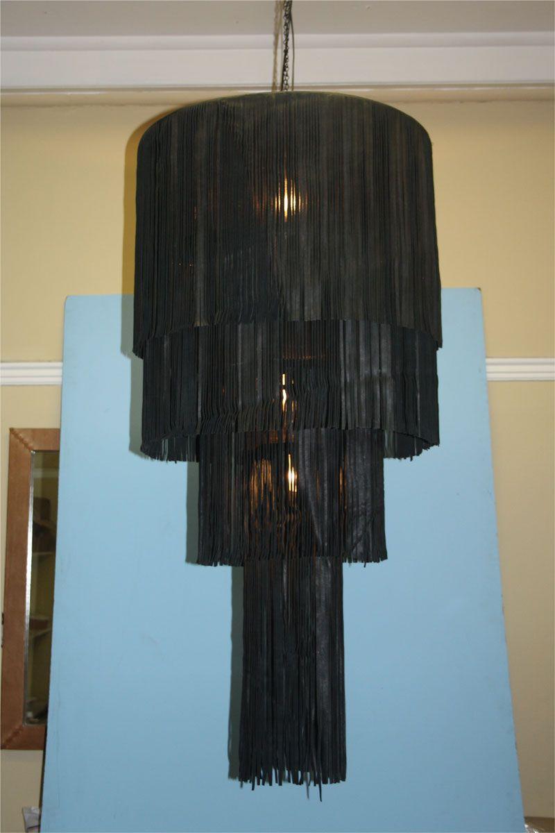 Woven Seagrass Chandelier Shade Ballard Designs Light