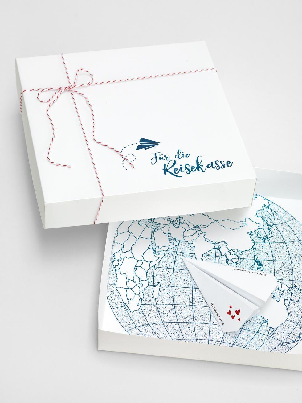 Geldgeschenk Verpackung Für Die Reisekasse Diy Hochzeit