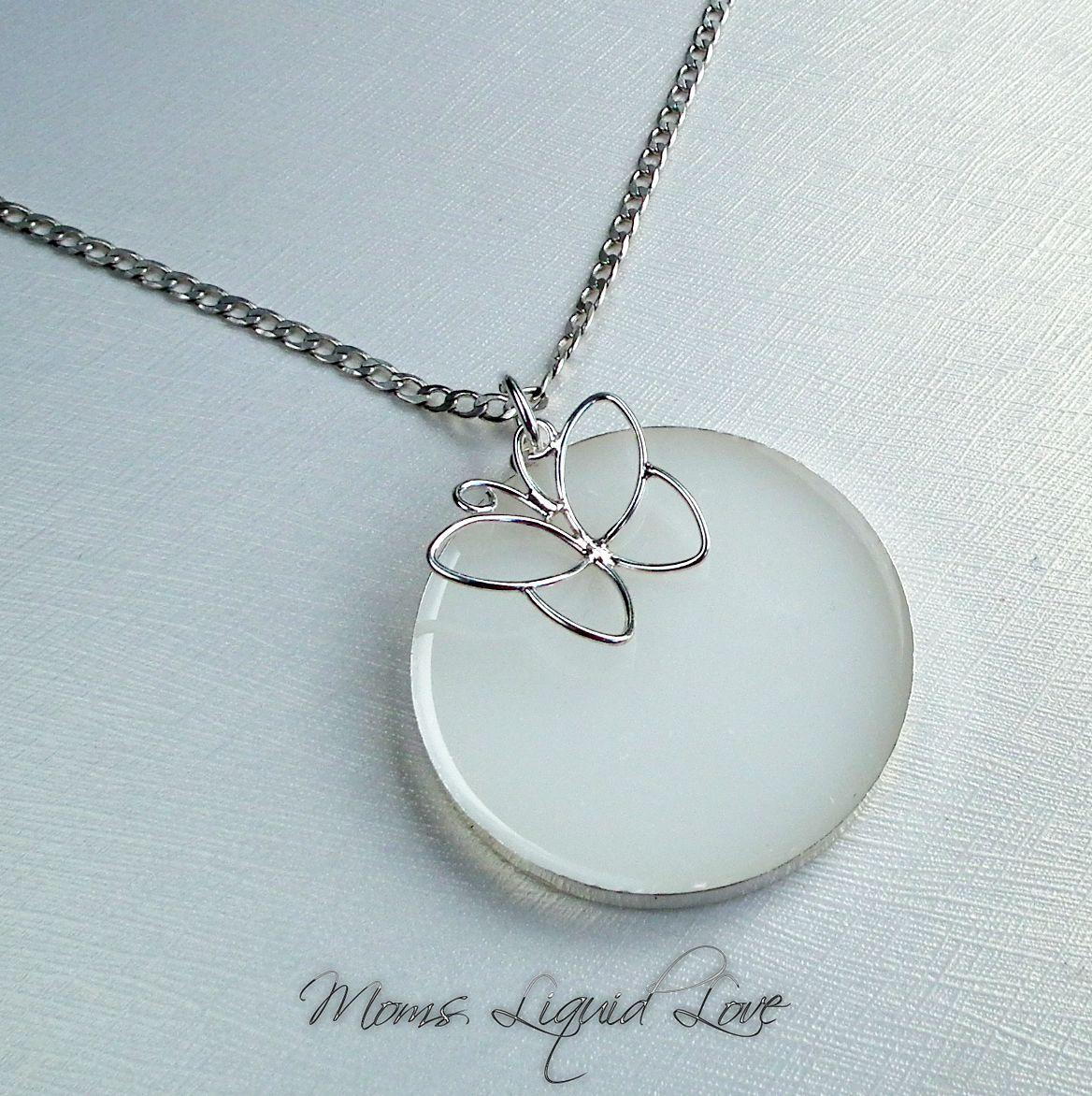 betaalbare prijs hete verkoop Bij vrijgave moedermelk sieraad vlinder Moedermelk sieraden, as sieraden ...
