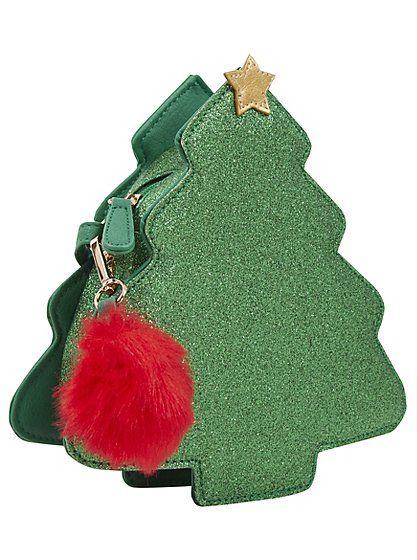 Christmas Tree Cross Body Bag