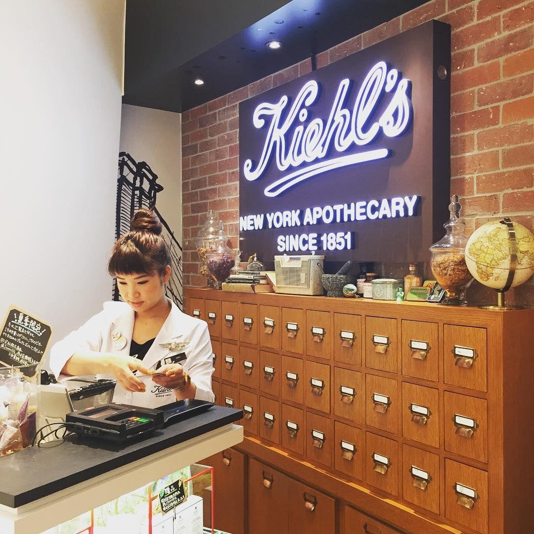 何時でもワクワクする  DFS GALLERIA OKINAWA  お客様としてお店に来てくれてる店員さんが多く ゆんたくも楽しいの  特にKiehls大ファンです  #okinawalife #okinawa #沖縄DFS #キールズ #kiehls