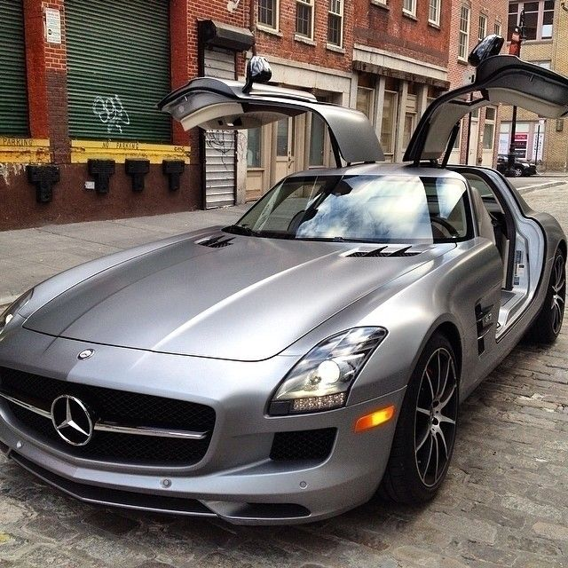 Like An Eagle. #MBphotocredit @nkcars #Mercedes #Benz #SLS