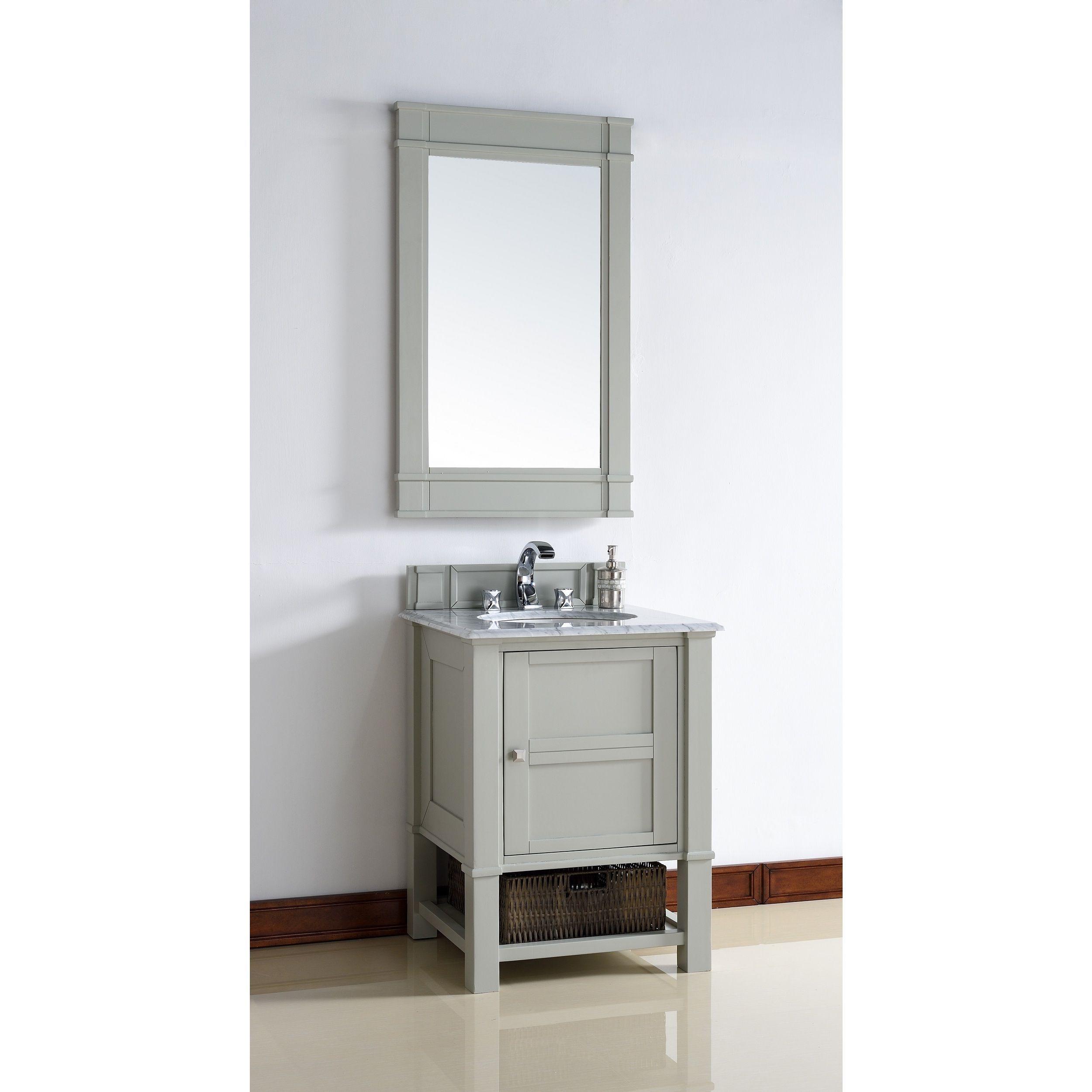 james martin furniture 26 inch single sink vanity in grey base no top size single vanities