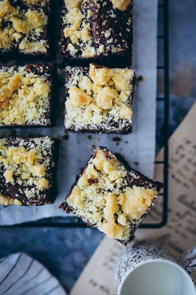 Bestes Streusel Brownies Rezept