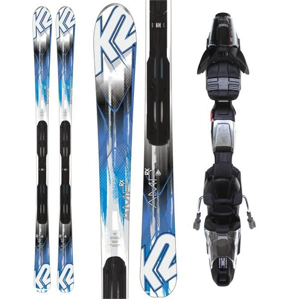 On Sale K2 Amp RX Skis w Marker Fastrack3 10 Bindings up to