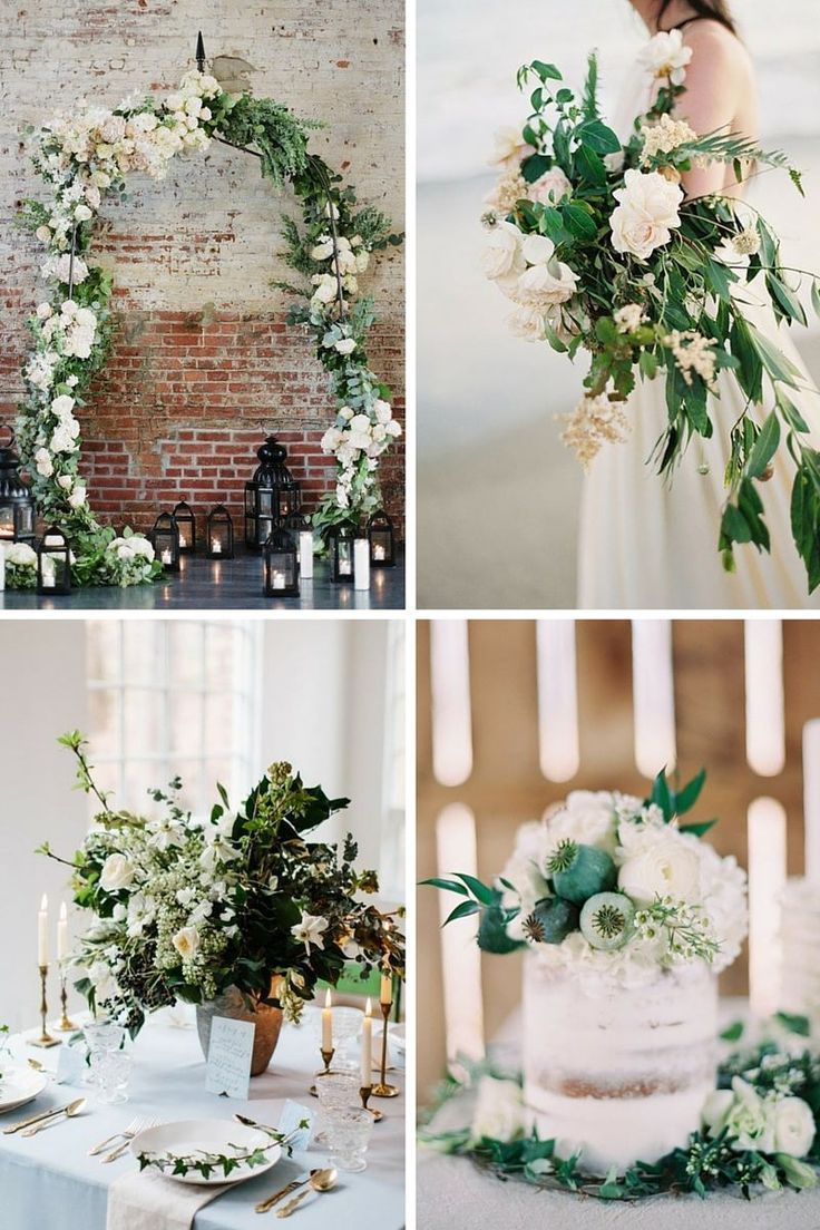 Latest Wedding Trend - Greenery
