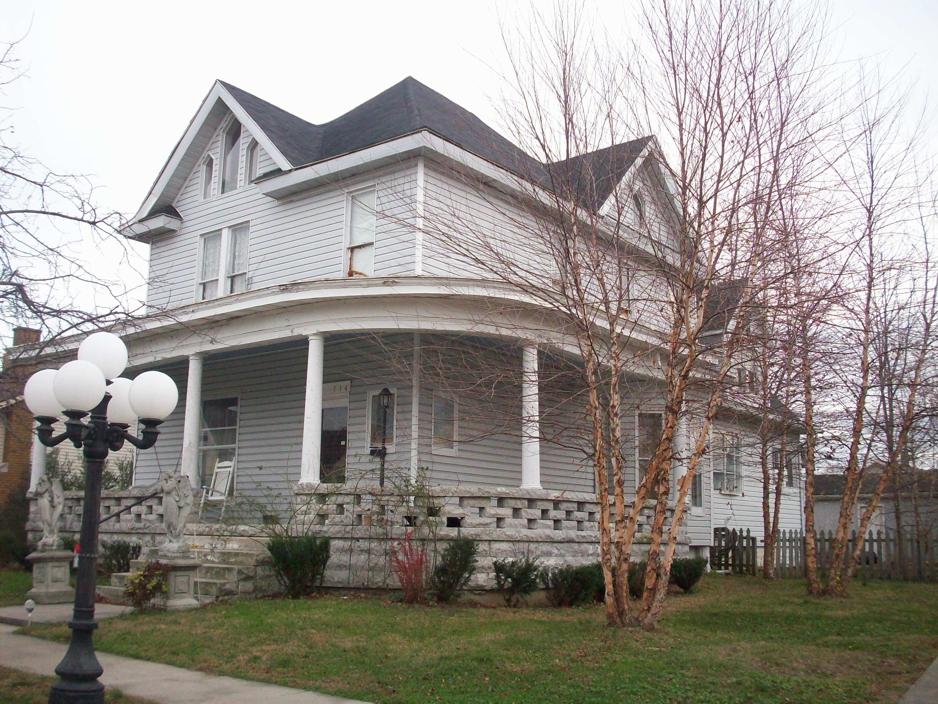 Whispers Estate In Mitchell, Indiana Haunted B