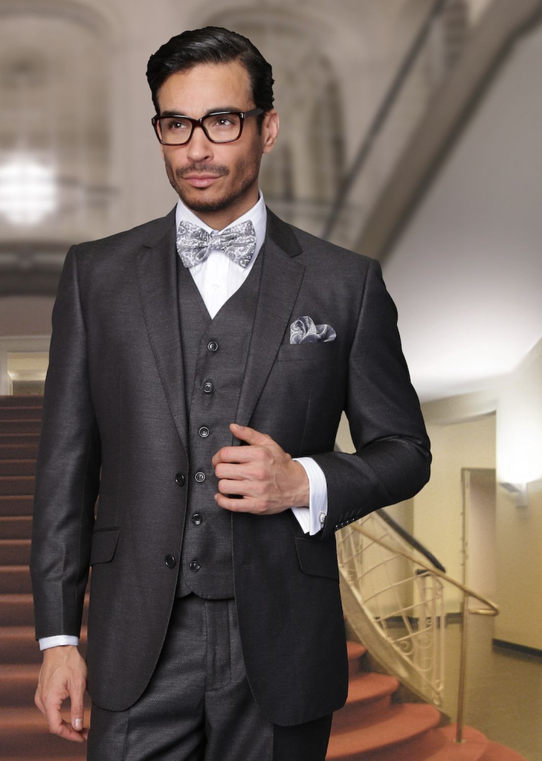 charcoal suit wedding - Google Search | The Groom | Pinterest ...