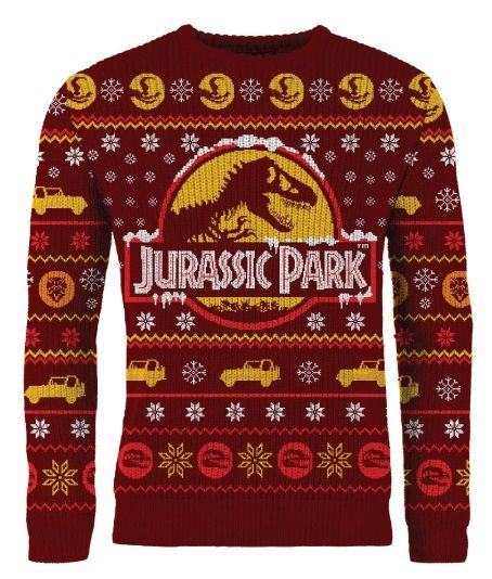 Jurassic Park: Knitted Christmas Sweater Merchoid