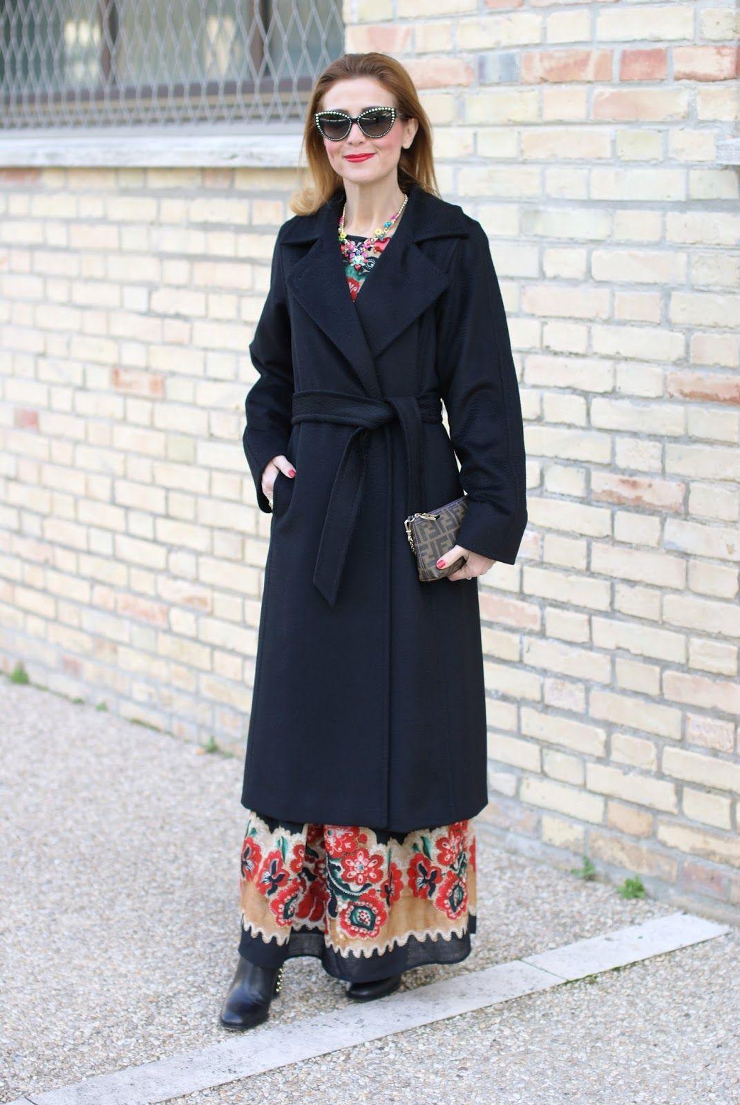 9cf3af105cae The perfect black coat  Max Mara Manuela coat