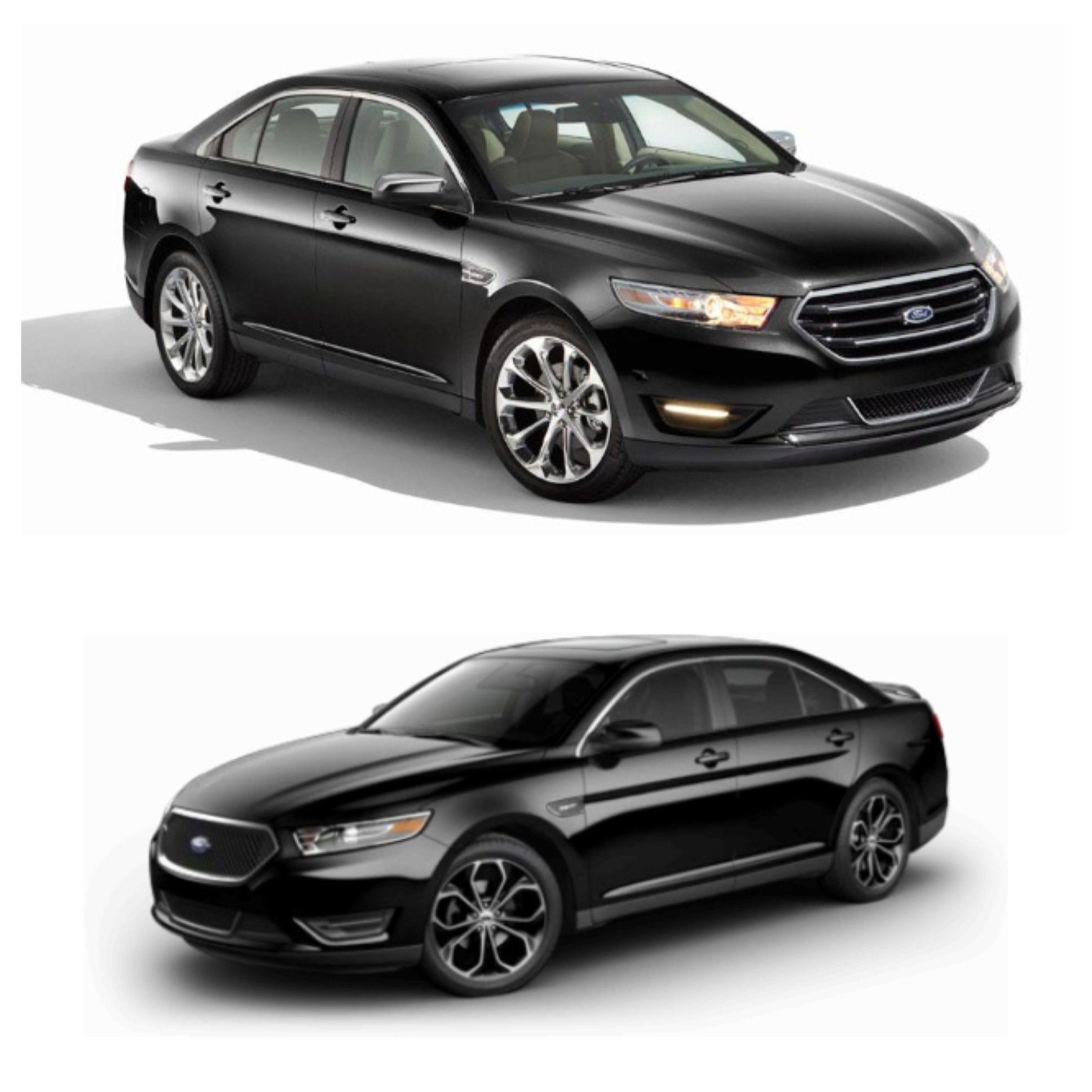 Ford Taurus Sho 2013: Black 2013 Ford Taurus SHO