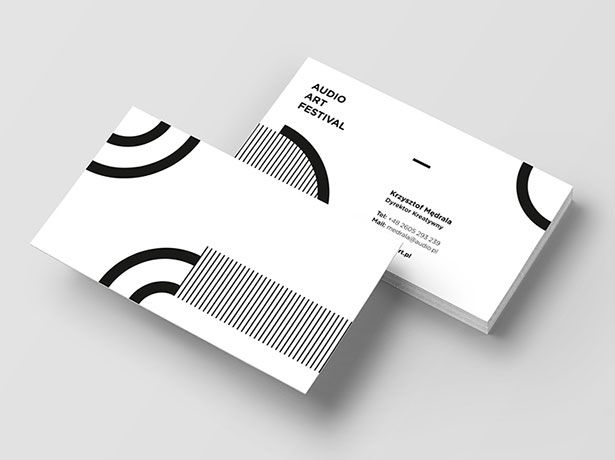 15 Simple Yet Professional Business Card Designs For Inspiration