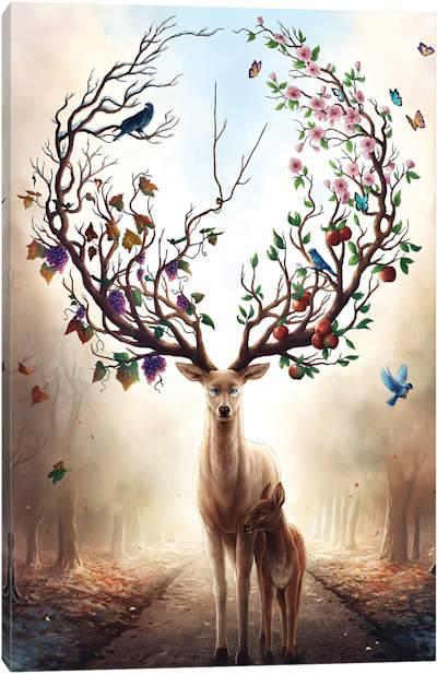 Deer Canvas Artwork | iCanvas