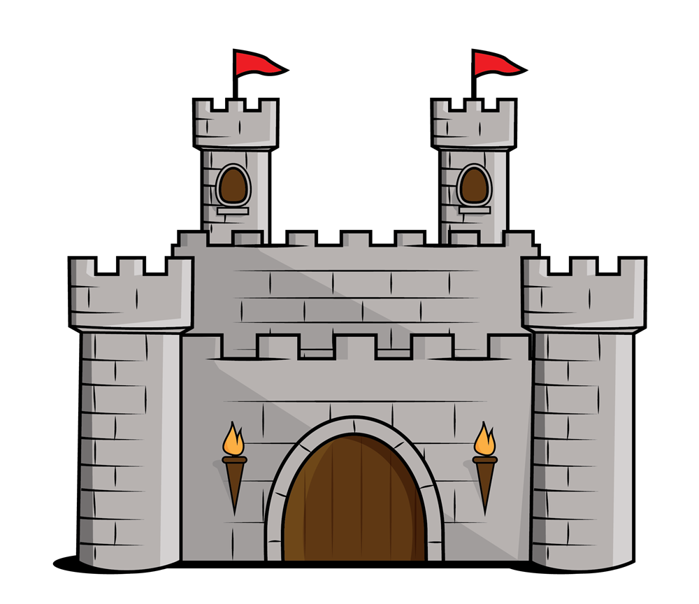 Image result for castle cartoon
