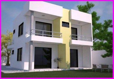 Modelo de fachadas de casas modernas peque 400 279 for Modelos cielorrasos para casas