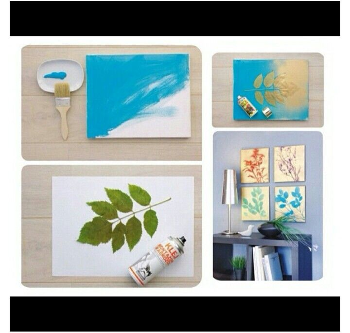 Make your own nature room decor