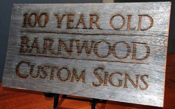 Barn Board Custom Engraved Wooden Signs All Engraving Included Barnboard Barn Board Barnwood Old Wood Signs Barn Wood Old Barn Wood