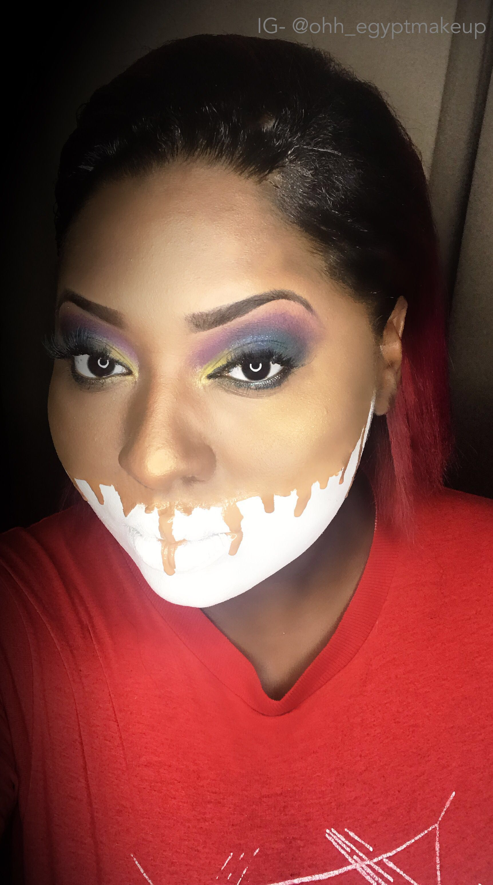 Melted Face Carnival Face Paint Fx Makeup Face