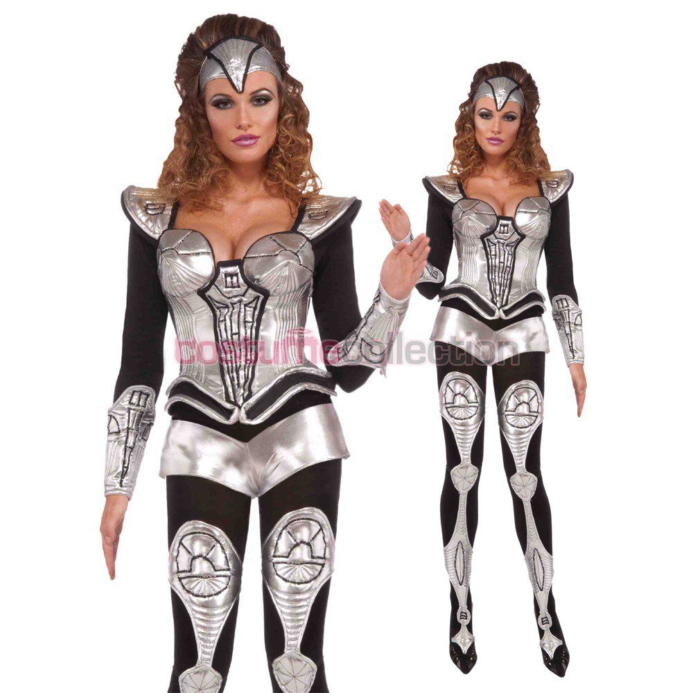 Silver Space Cyborg Halloween Costume | costume ideas | Pinterest ...