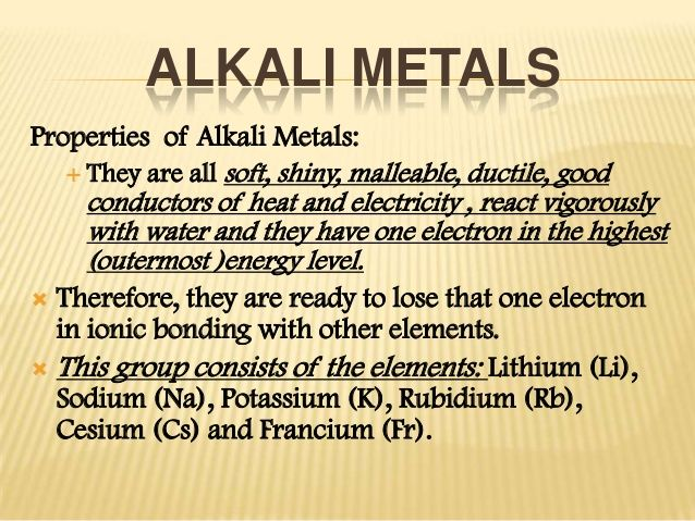 Alkaline and alkaline earth metals in love with science chemistry alkaline and alkaline earth metals urtaz Choice Image
