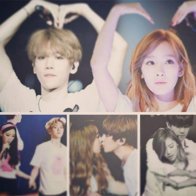 byun baekhyun and kim taeyeon dating