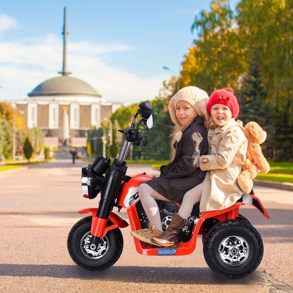 Costway Moto elettrica multifunzione per bambini da 36-95 ...