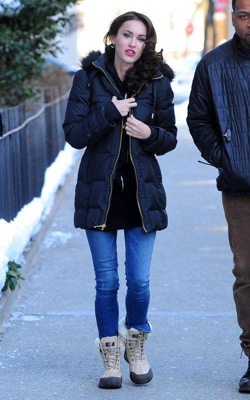 Megan Fox Ugg Australia Adirondack Ii Boot Sand