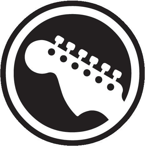 rock band guitar logo music pinterest rock bands