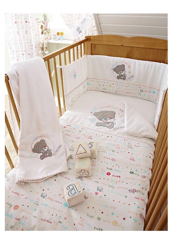 Everything Designish Baby Boy S Nursery: Tatty Teddy Quilt And Bumper Set