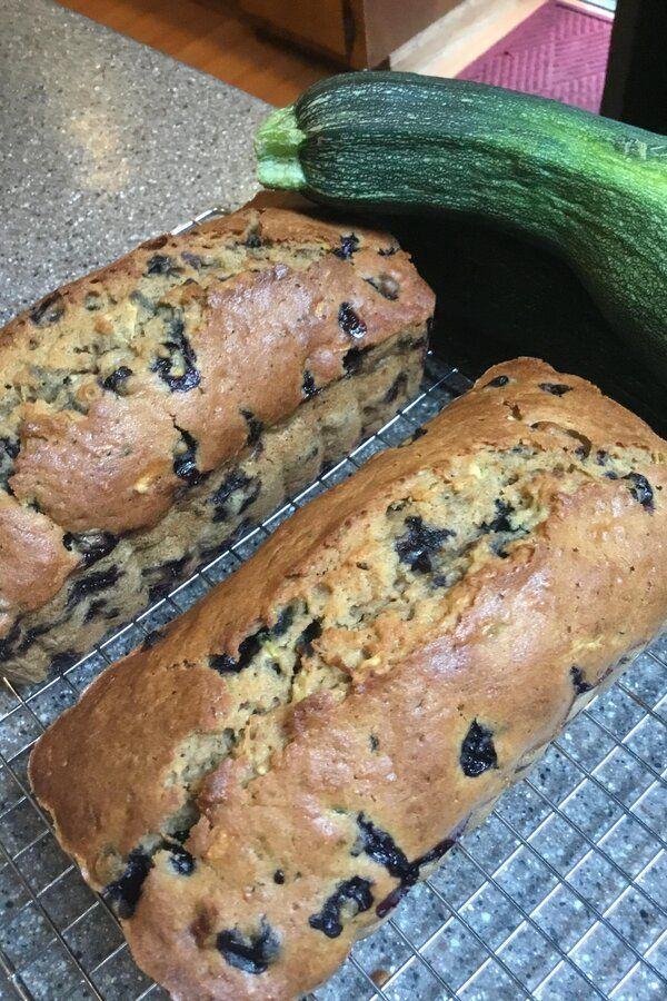 blueberry zucchini bread  recipe  recipes zucchini