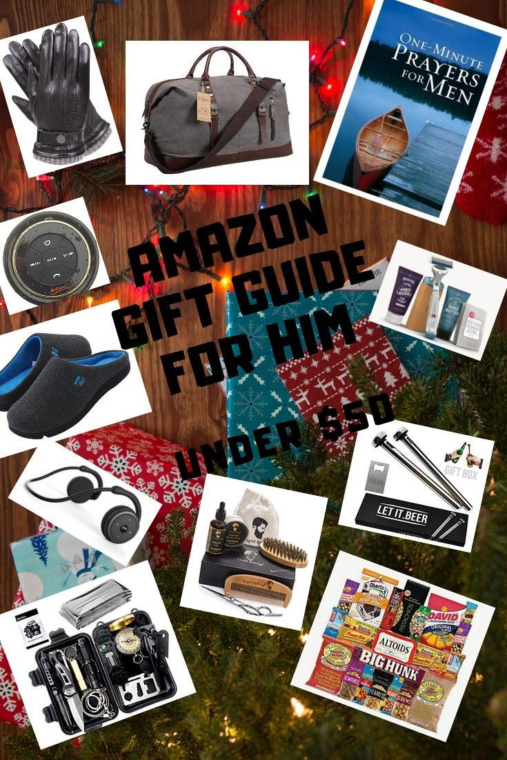 Amazon gift guide for him under 50 gift guide for him