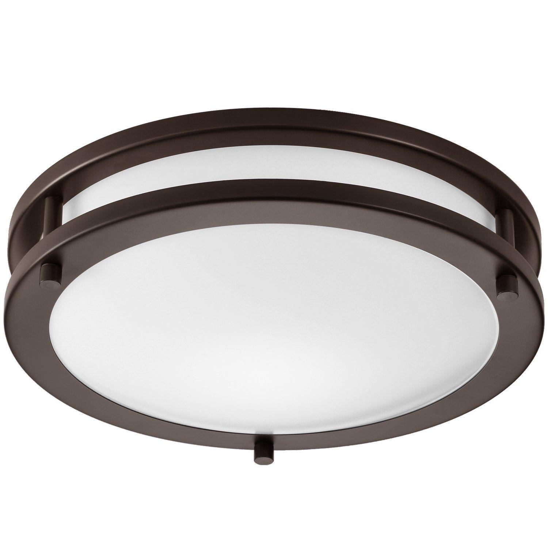 Getinlight Led Flush Mount Ceiling Light 12 Inch 15w 75w