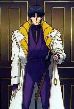 Rurouni Kenshin - Aoshi Shinomori