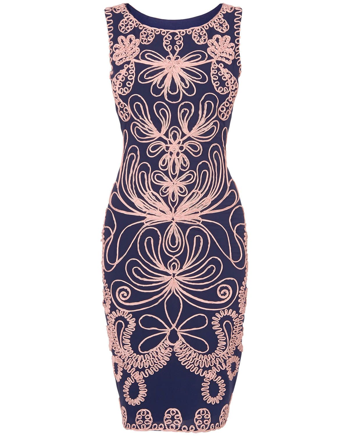 Occasion Dresses | Blue Camilla Tapework Dress | Phase Eight | My ...