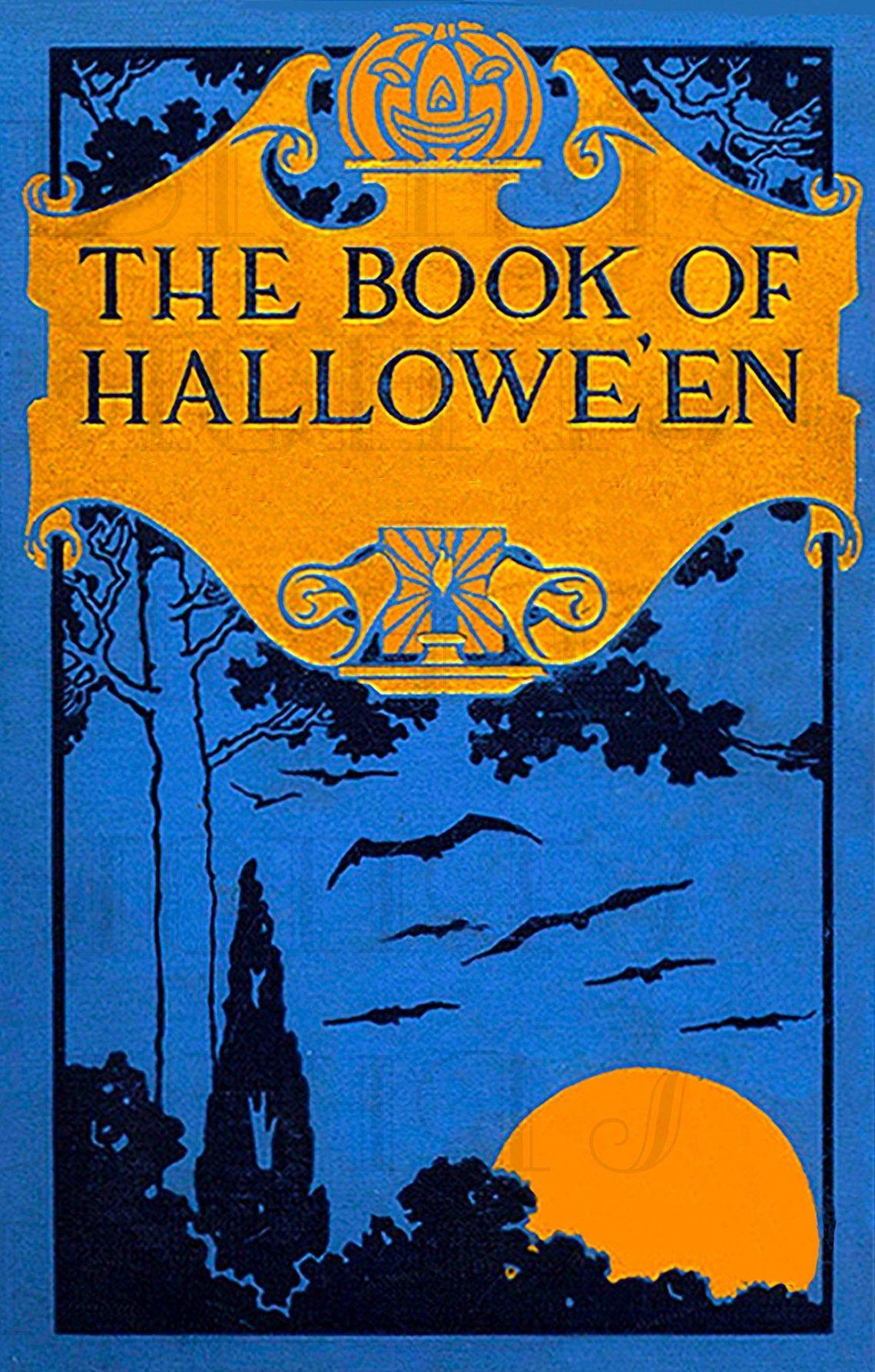 RARE The Book of Halloween! Digital HALLOWEEN Download