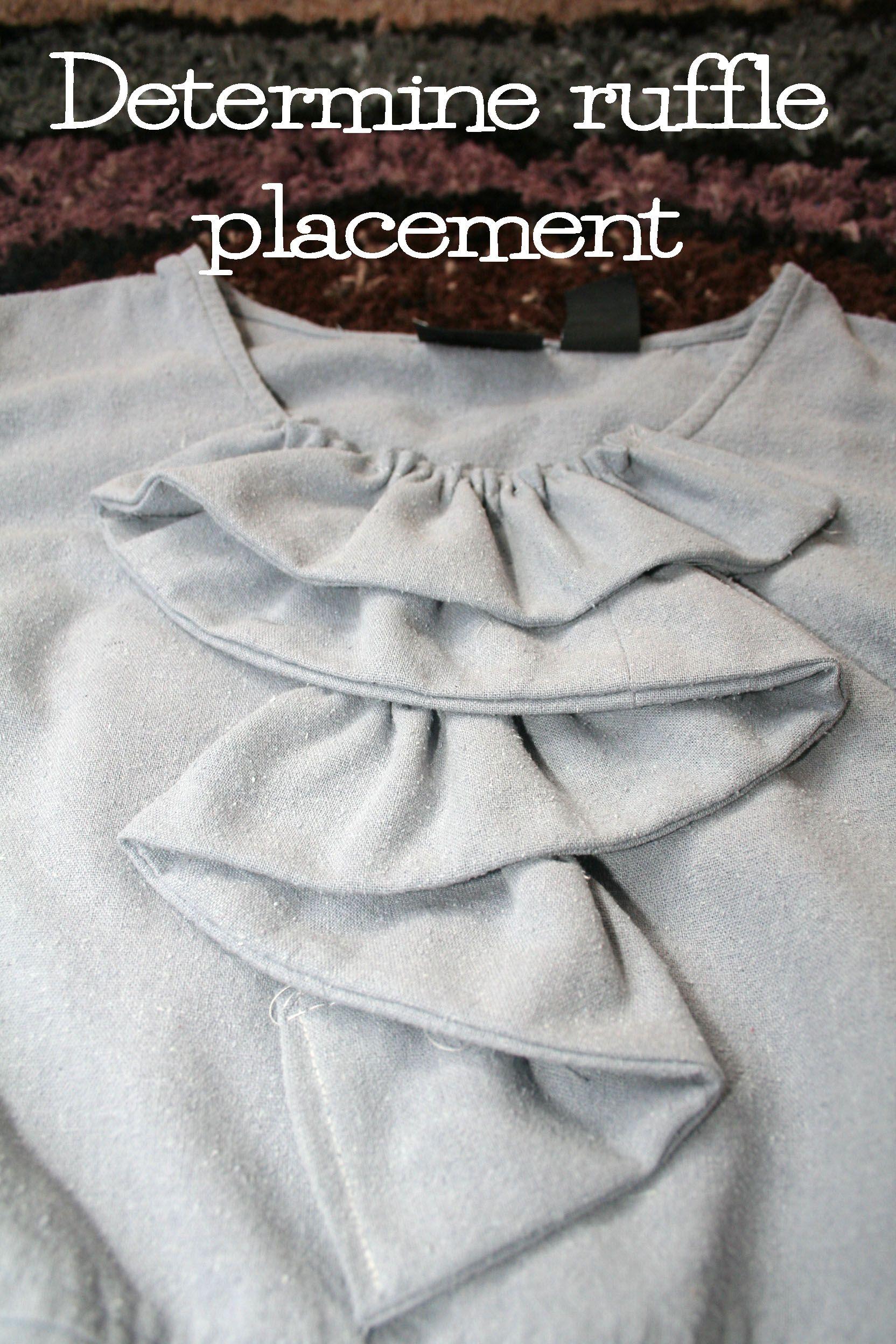 Upcycled Gray Silk ruffle dress