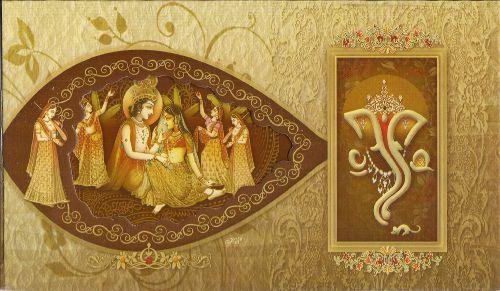 Indian Style Invitation Design Sample