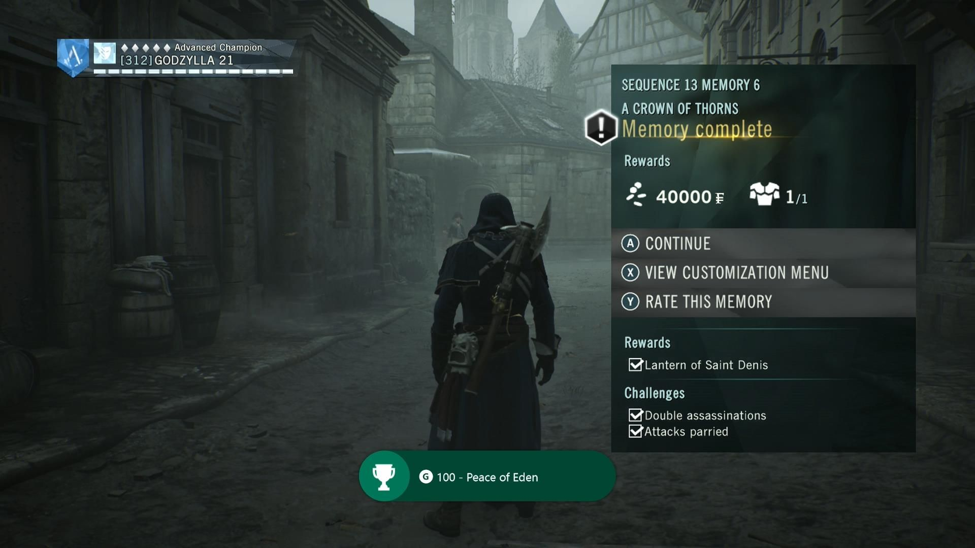 Assassin S Creed Unity Dead Kings Walkthrough Sequence 13 Memory 6