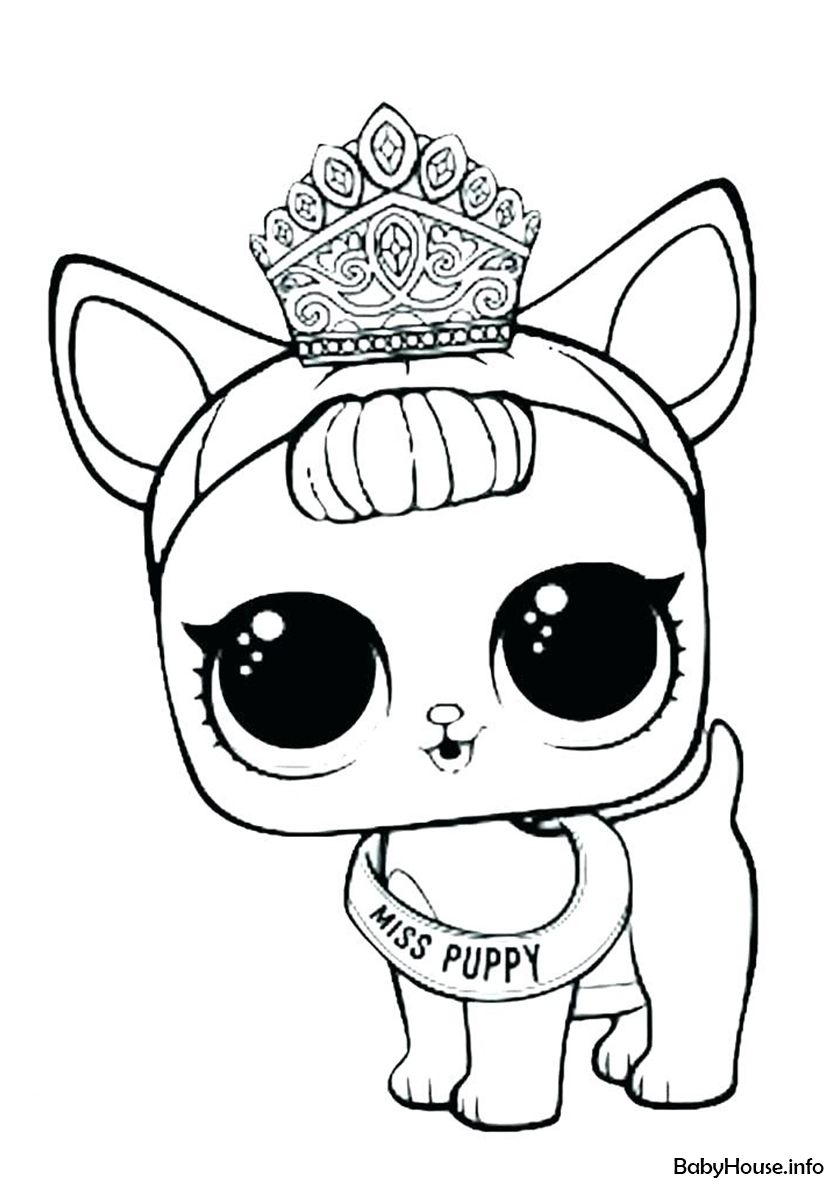 Miss Puppy High Quality Free Coloring From The Category L O L Pets More Printable Pictures Puppy Coloring Pages Unicorn Coloring Pages Cute Coloring Pages